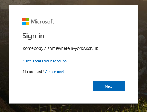 office365 sign in
