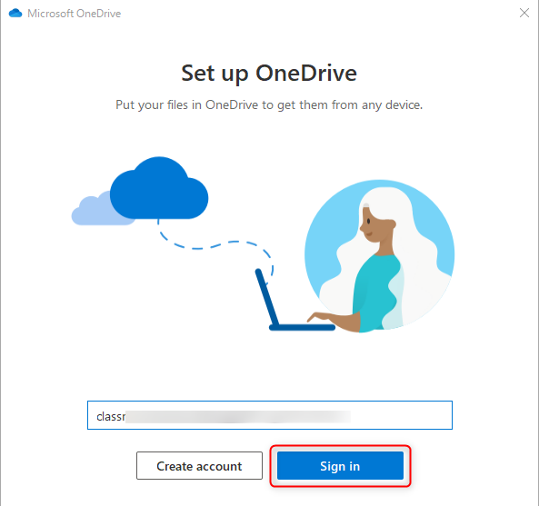 OneDrive - How to Setup the OneDrive Sync Client