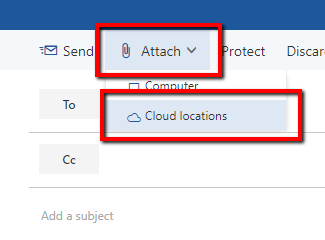 Attaching a File in Outlook from SharePoint