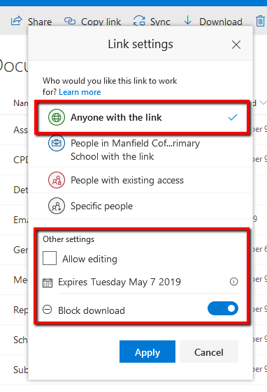 sharepoint share file anyone 03
