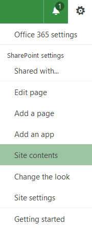 SharePoint Help - Editing Promoted Links