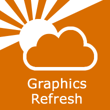 cirrus refresh graphics flat
